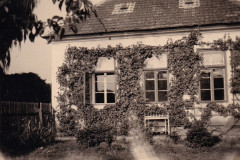Škola Svatá Kateřina - východní strana - rok 1943